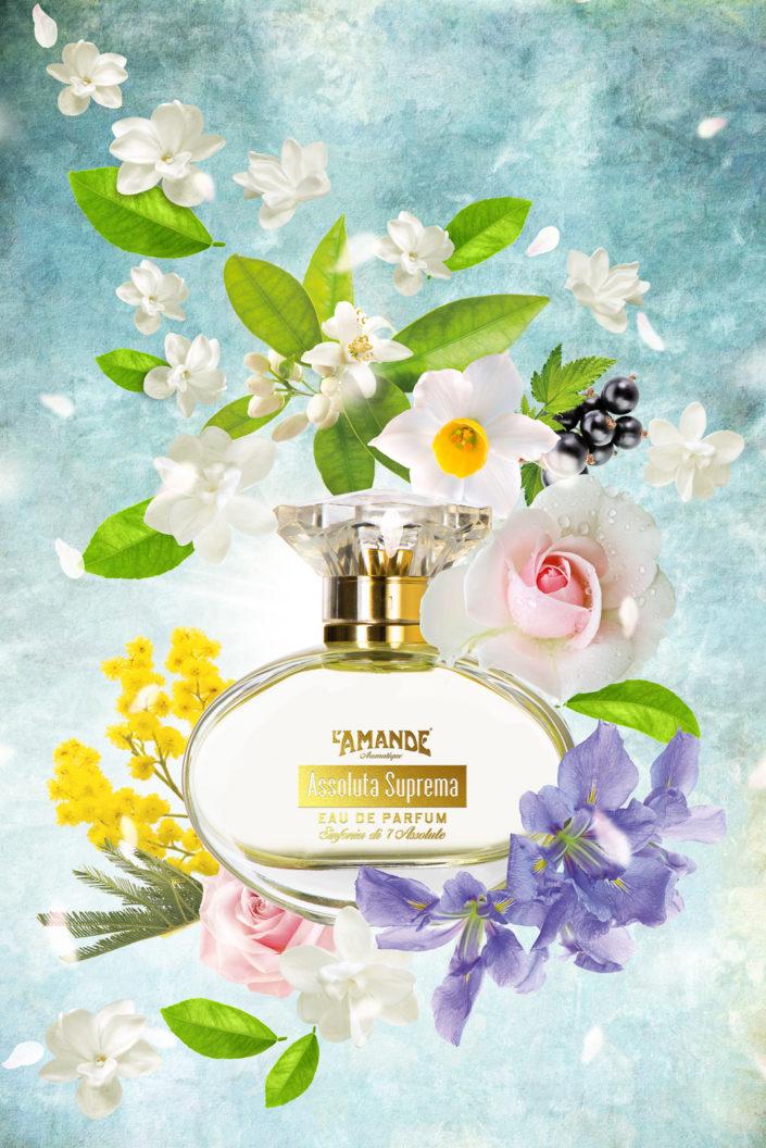 luisapuccini, Luisa Puccini, composite, special effect, flowers, parfum, profumi, l'amande, assolute, fiore,